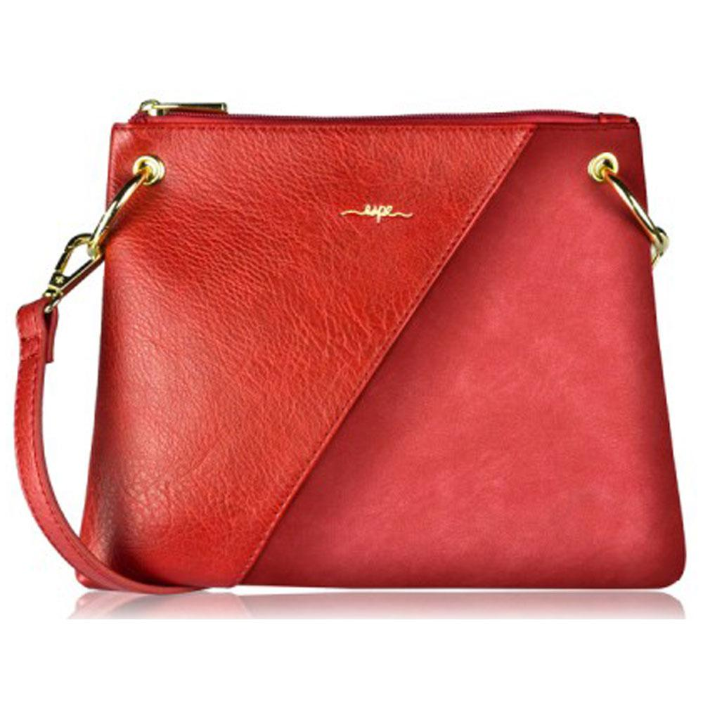 Espe Carrie Crossbody Purse in Red at Mar-Lou Shoes
