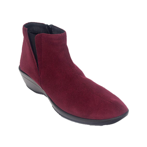 Luana Boot in Burgundy