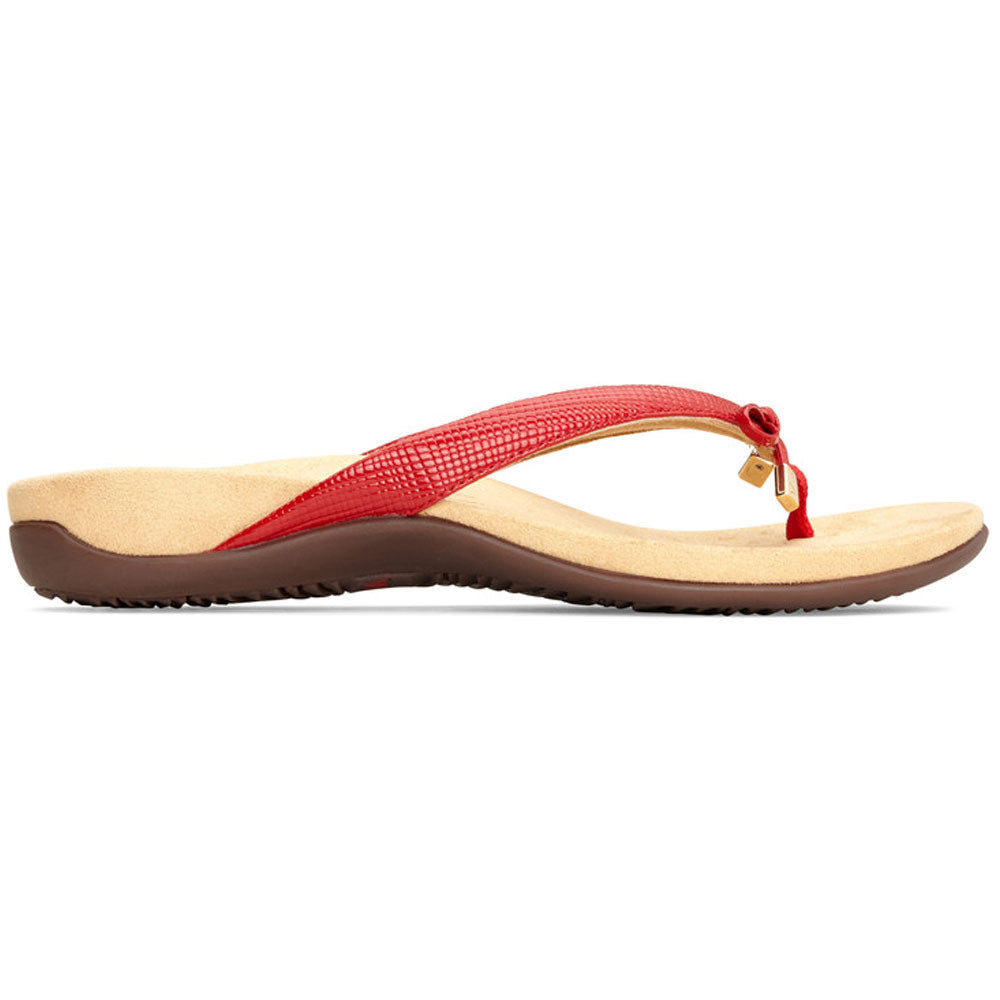 6f64451d1d91 Bella II Sandal in Red Lizard Found at Mar-Lou Shoes in Cleveland