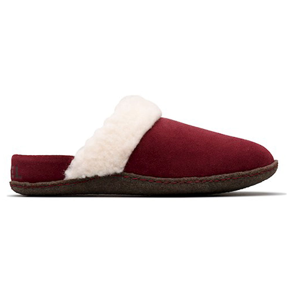 Nakiska™ Slide II Slipper in Rich Wine Suede