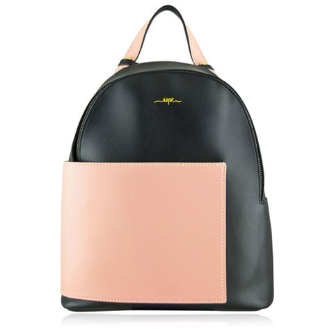 Sallie Backpack in Black/Pink