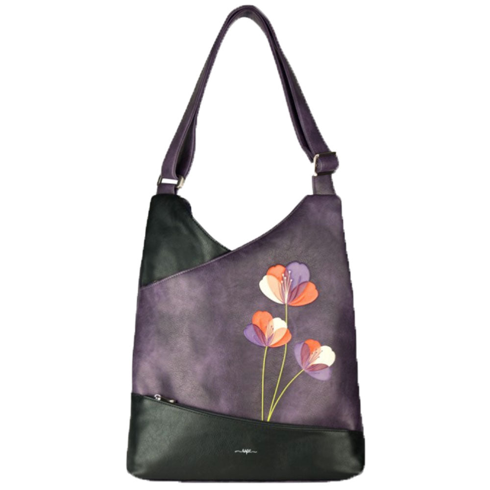 Satini Messenger in Purple