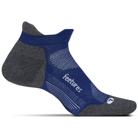 Unisex Elite Max Cushion No Show Tab Socks in Sapphire
