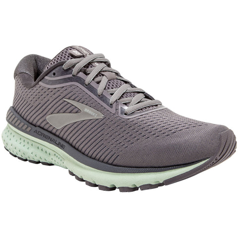 Brooks Women's Adrenaline GTS 20 in Shark/Pearl/Mint at Mar-Lou Shoes