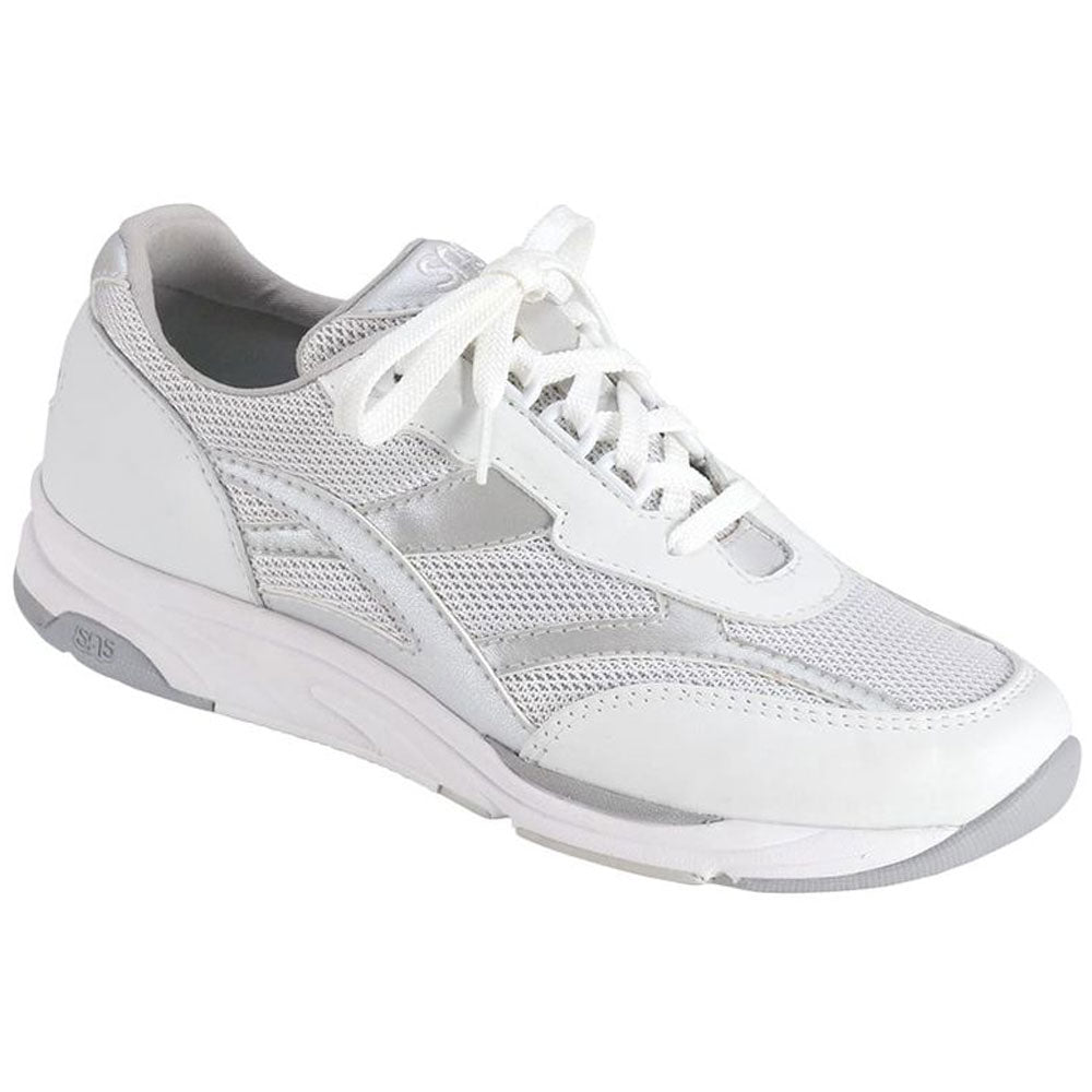 SAS Tour Mesh in Silver at Mar-Lou Shoes