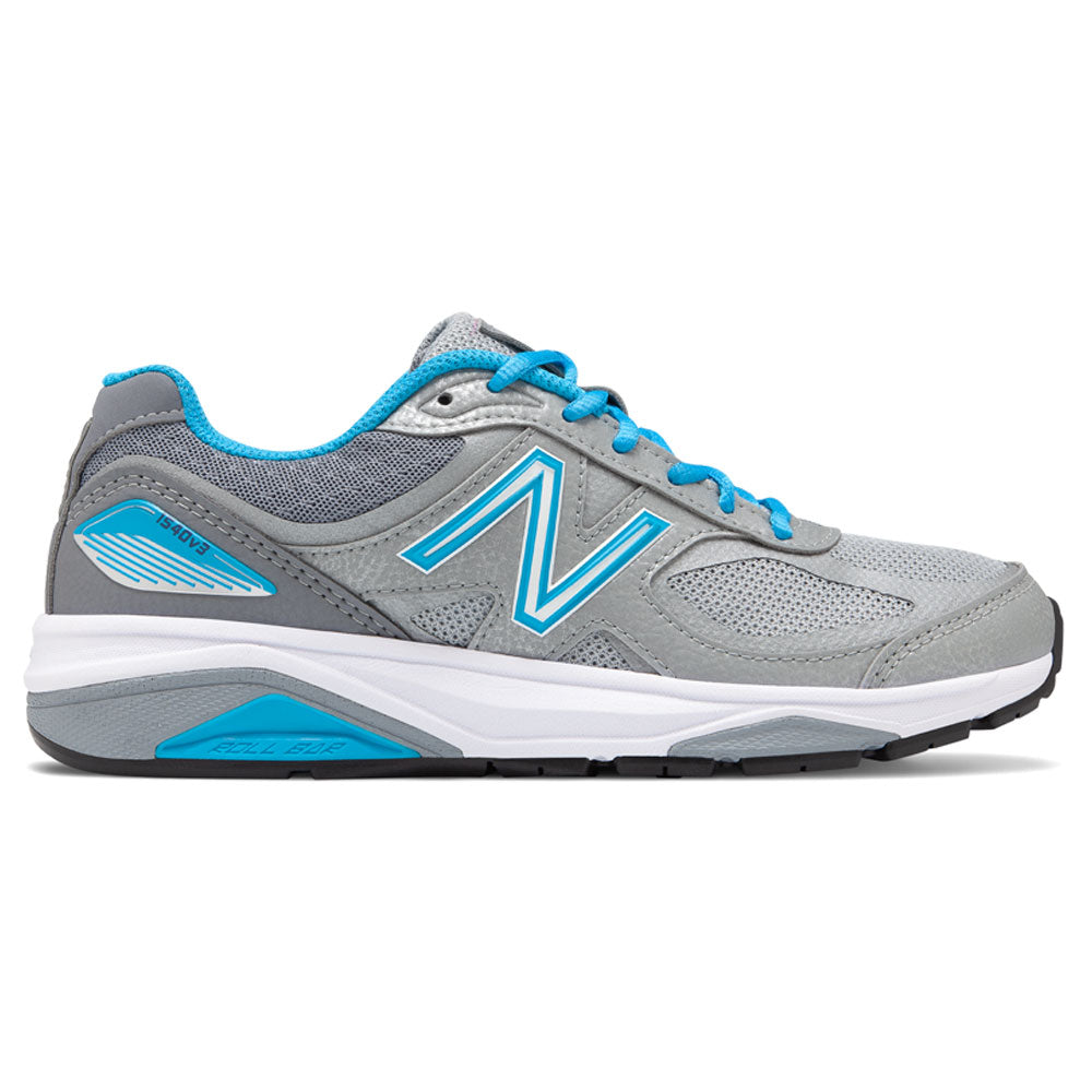 New Balance Women's 1540v3 in Silver with Polaris at Mar-Lou Shoes