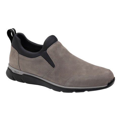 ECCO XC4® Prentiss Slip-On in Charcoal Oiled Waterproof  Leather at Mar-Lou Shoes