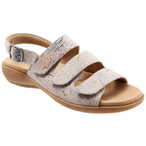 Vine Sandal in Stone Leather