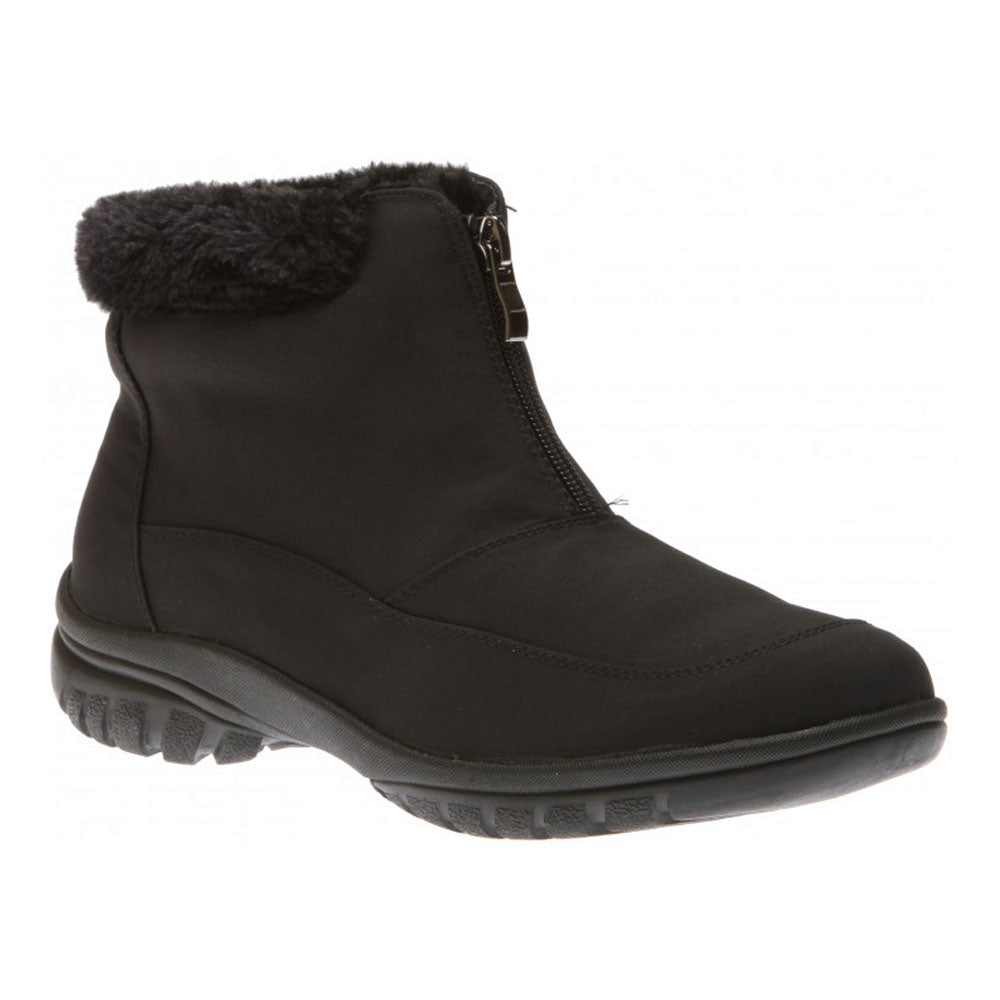 Toe Warmers Tammi Waterproof Boot in Black at Mar-Lou Shoes