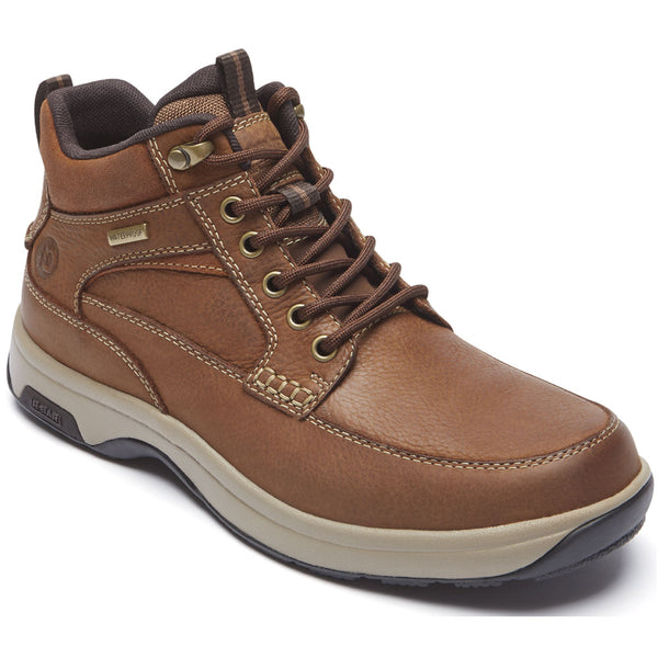8000 Mid Waterproof Boot in Tan Leather from Dunham found at Mar-Lou Shoes