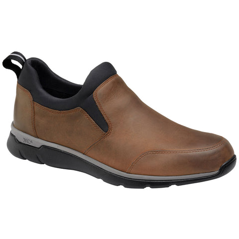ECCO XC4® XC4® Prentiss Slip-On in Tan Oiled Waterproof Leather at Mar-Lou Shoes