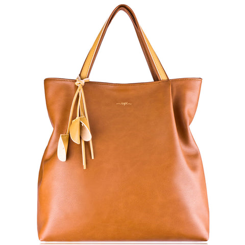 Espe Angel Tote in Tan at Mar-Lou Shoes