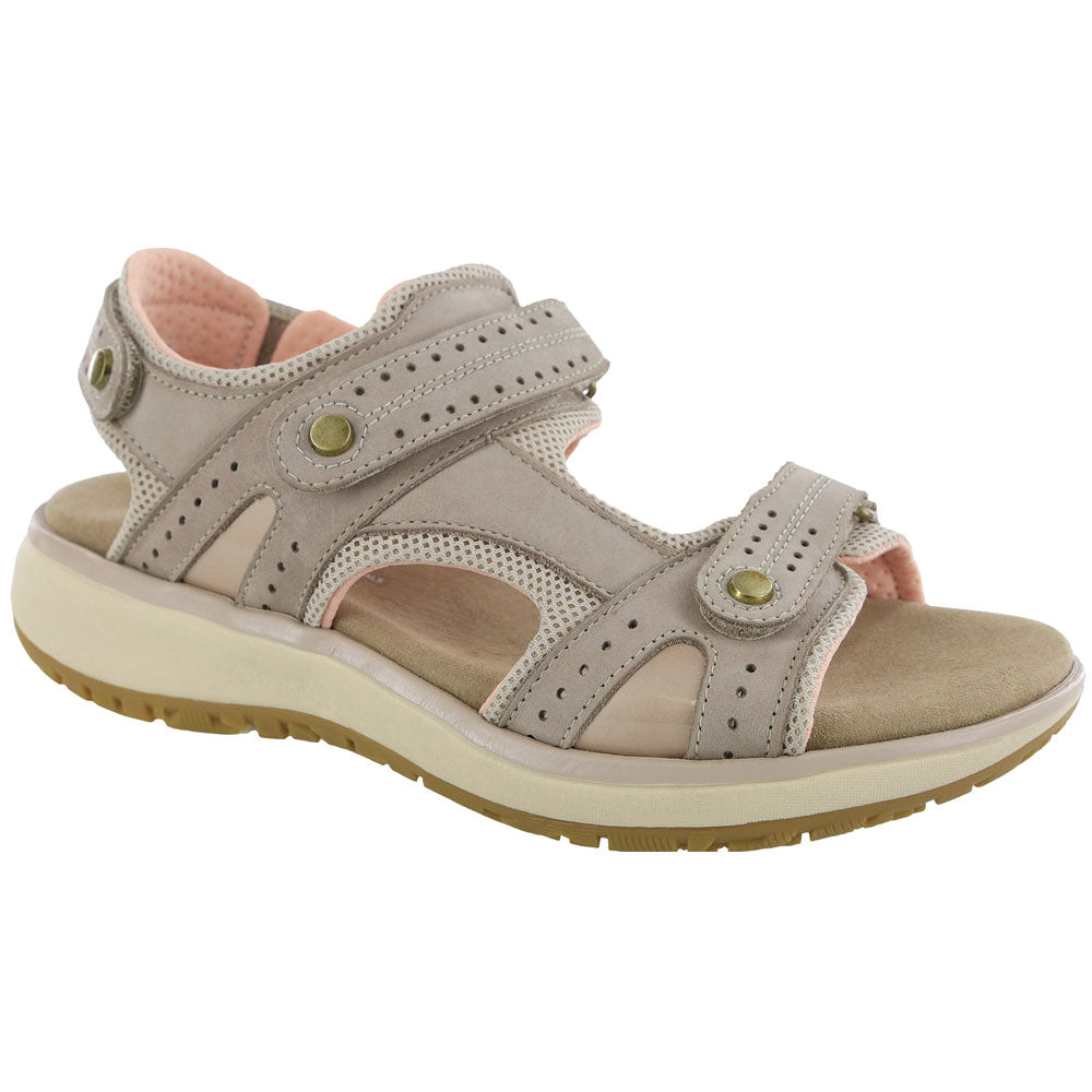 SAS Women's Embark Sandal in Taupe at Mar-Lou Shoes