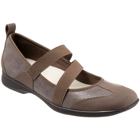 Josie in Taupe Lizard Leather