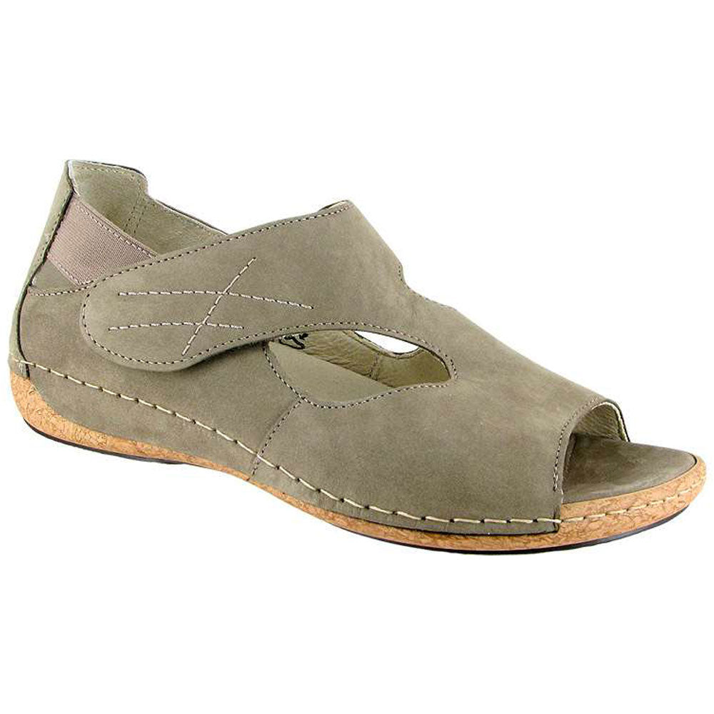 Bailey Sandal in Taupe Nubuck