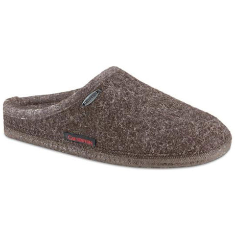 Giesswein Abend Slipper in Taupe at Mar-Lou Shoes