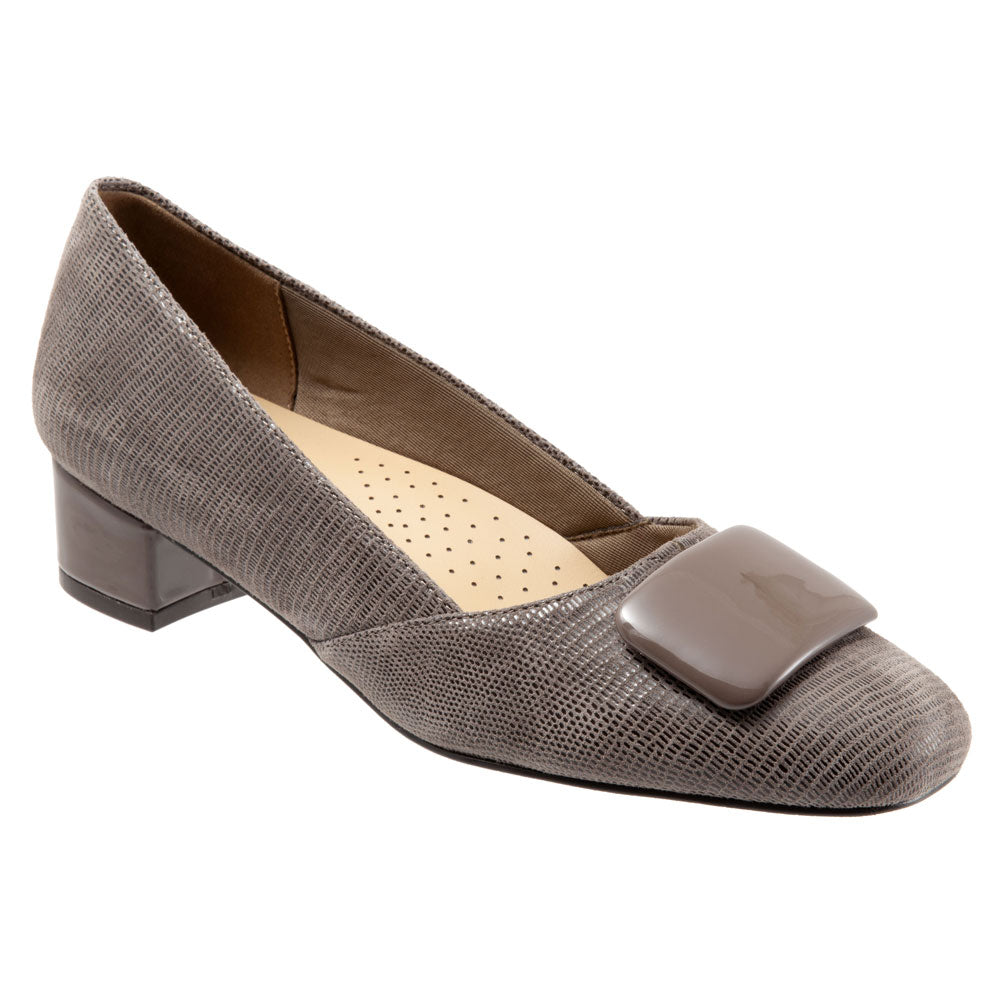 Delse in Taupe Lizard