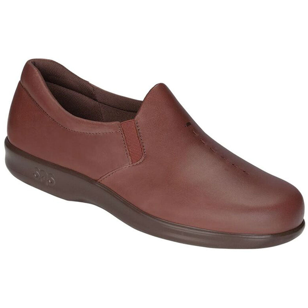 SAS Viva Loafer in Teak Leather at Mar-Lou Shoes