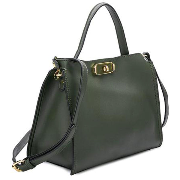 Thea Shoulder Bag in Black, Olive or Taupe