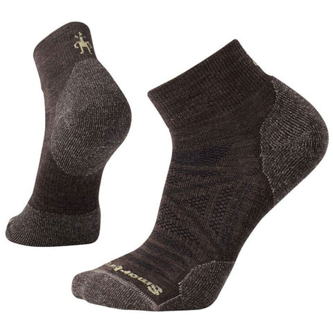 Men's PhD® Outdoor Light Mini Socks in Chestnut