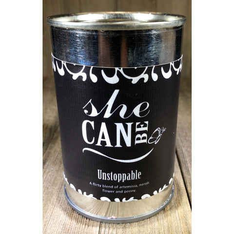 SheCan Be Unstoppable Candle in Flower Scents
