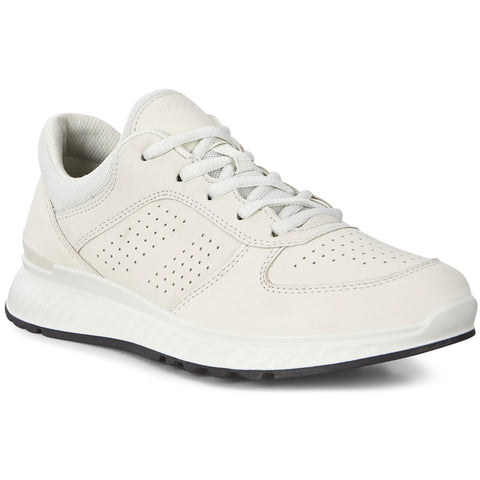 ECCO Exostride W in Shadow/White Cirrus Leather at Mar-Lou Shoes