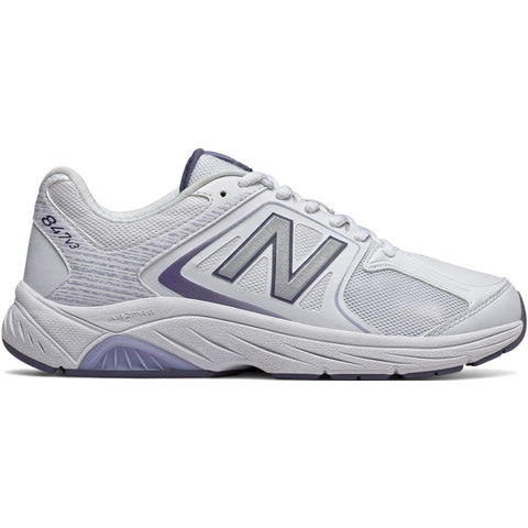 New Balance Women's 847v3 in White with Grey from Mar-Lou Shoes