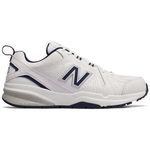 New Balance Men's 608v5 in White at Mar-Lou Shoes