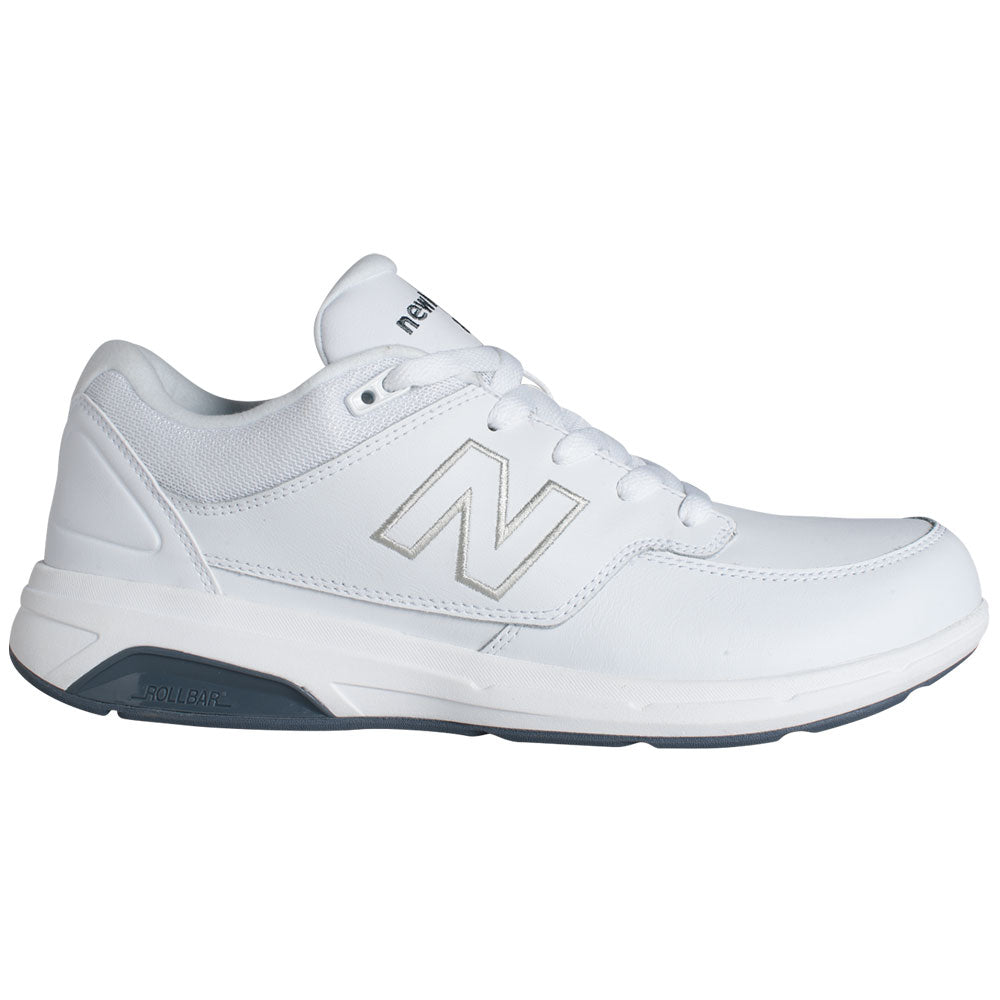 New Balance Men's 813 in White Leather at Mar-Lou Shoes