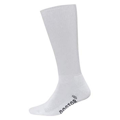 Foot Zen Diabetic Crew Sock in White at Mar-Lou Shoes