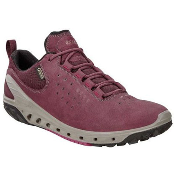 ECCO Biom Venture in Waterproof Wine Nubuck at Mar-Lou Shoes