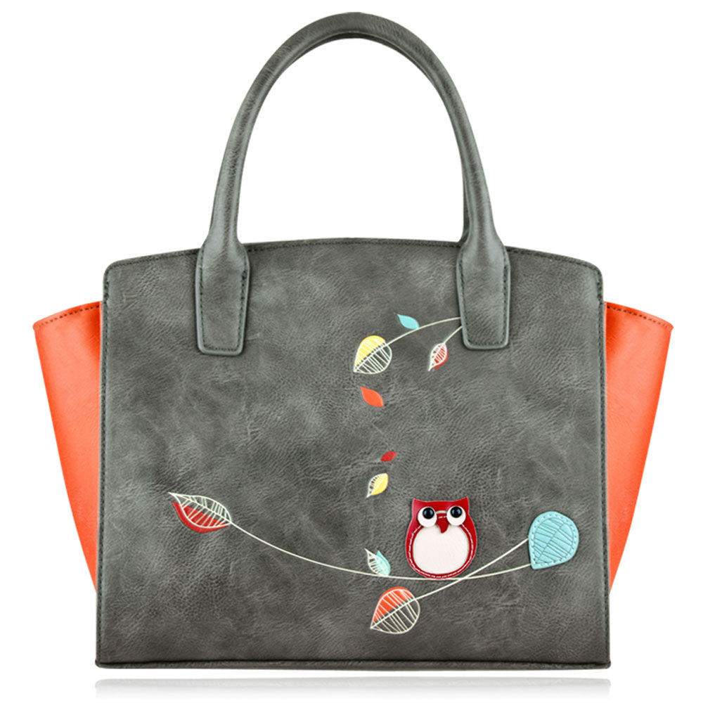Winter Mini Tote in Grey