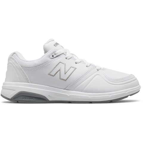 New Balance Women's 813 in White Leather at Mar-Lou Shoes