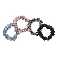 PURE SILK HAIRBANDS x 4