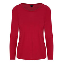 Full sleeve scoop neck in RED **WAS £80**