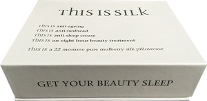 NOIR SILK PILLOWCASE (22 momme)