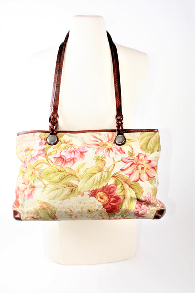 Brighton Floral Handle Bag