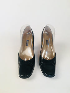 Vintage Bally Square-Toe Heels