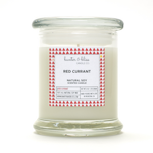 RED CURRANT. Soy Candle.
