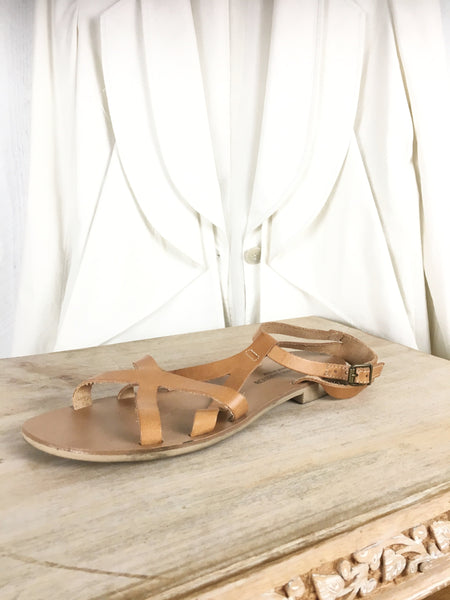 Barbara Barbieri Greek Multi Strap Sandals