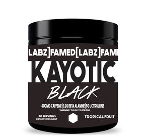 Kayotic Black Pre-Workout