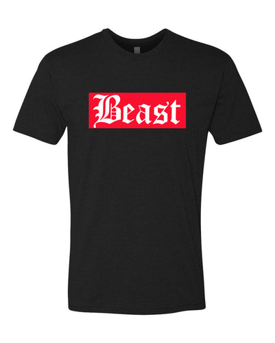 Beast Red Block T Shirt