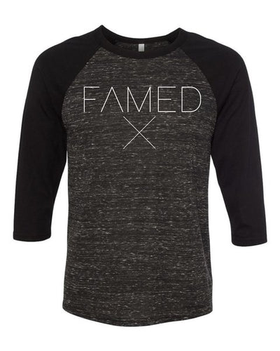 Famed X 3/4 Sleeve Baseball Tee