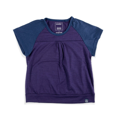 Girlie Merino Tee Blueberry