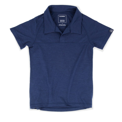 Smart Merino Polo Atlantic