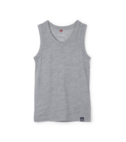 Journey Merino Tank - Heather Gray