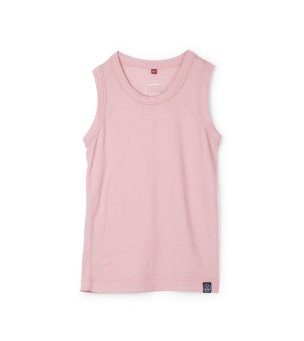 Journey Merino Tank - Sweet Pink
