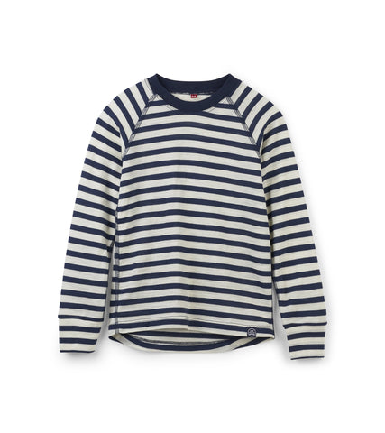 Everyday Merino Shirt - Blue Stripe