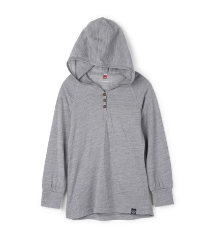 Aha Merino Hoody - Heather Gray