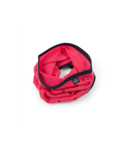 Merino Neck Warmer - Raspberry